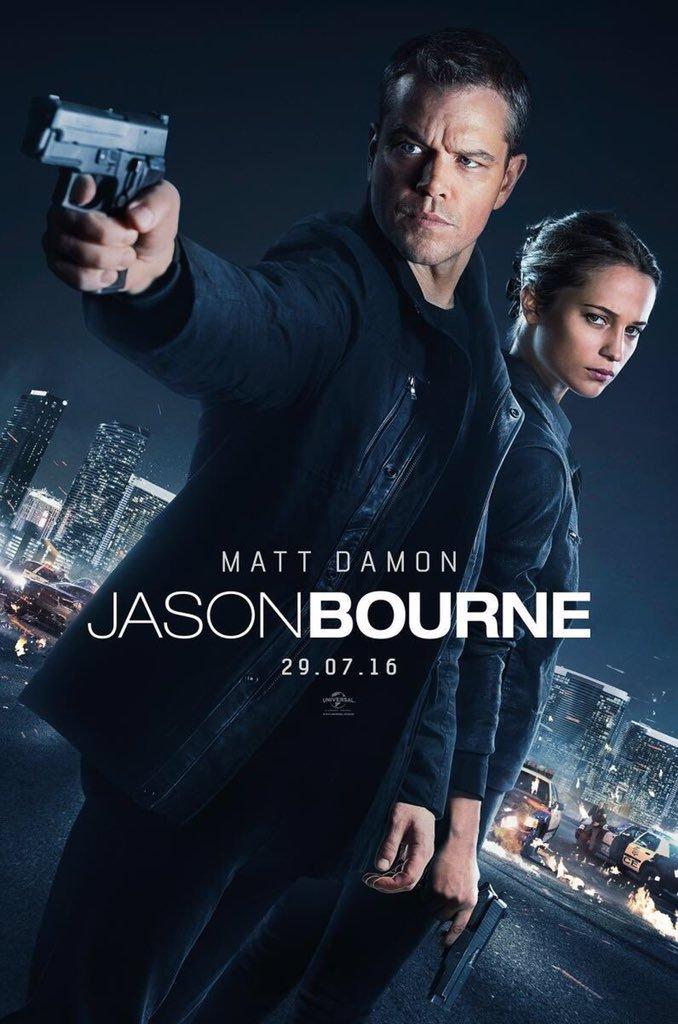 ดูหนัง Jason Bourne (2016) เจสัน บอร์น ยอดจารชนคนอันตราย