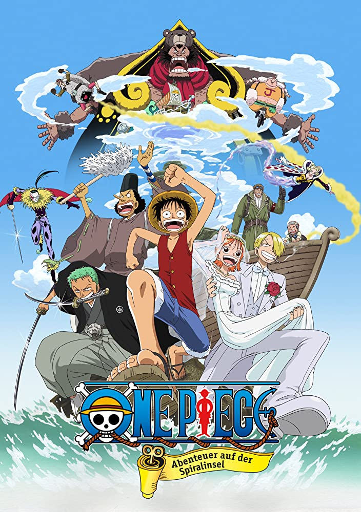 ดูการ์ตูน One Piece The Movie 2 (2001) ตอนที่ 2 การผจญภัยบนเกาะแห่งฟันเฟือง