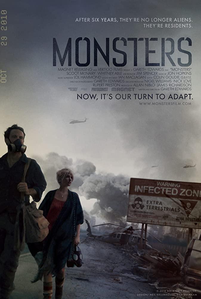 ดูหนัง Monsters (2010) เขมือบดุ