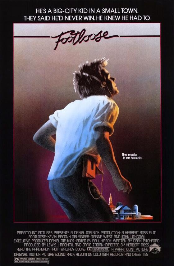 ดูหนัง Footloose (1984) ฟุตลูส เต้นนี้เพื่อเธอ [ซับไทย]