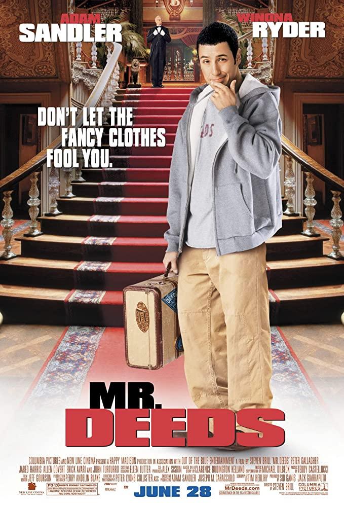 ดูหนัง Mr. Deeds (2002) นายดี๊ดส์ เศรษฐีใหม่หัวใจนอกนา