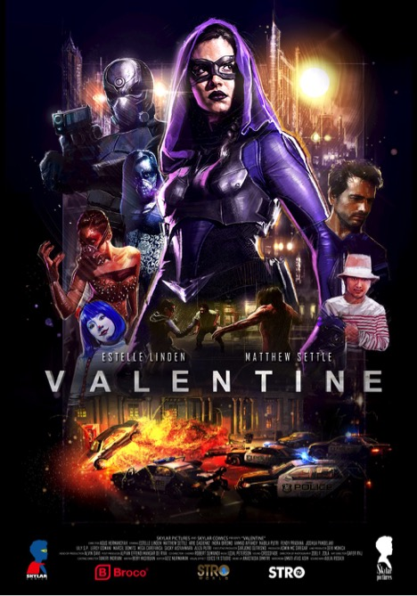 ดูหนัง Valentine: The Dark Avenger (2017)