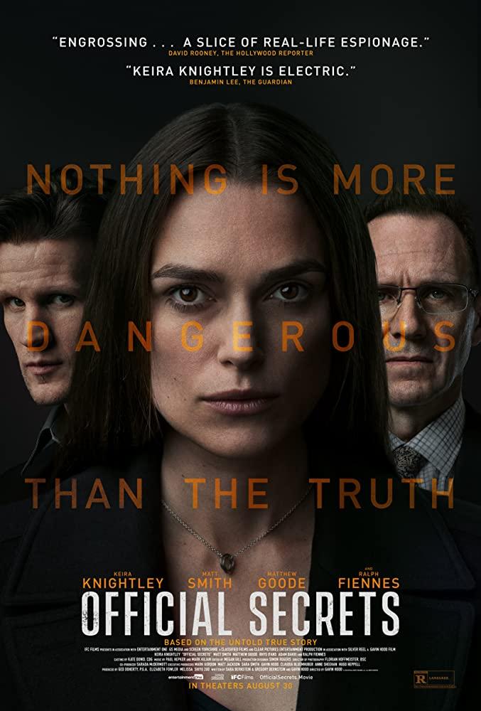 ดูหนัง Official Secrets (2019) รัฐบาลซ่อนเงื่อน