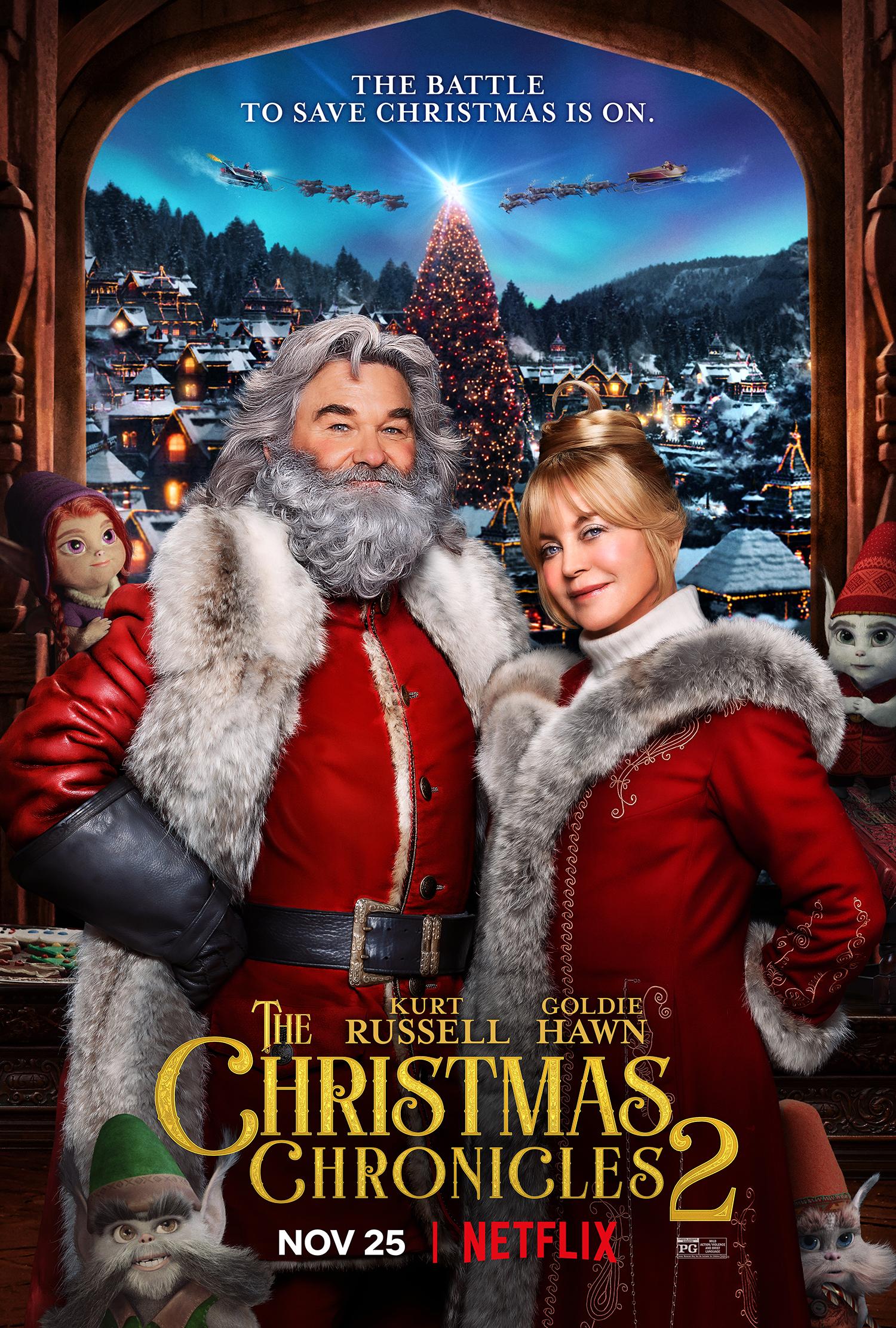 ดูหนัง The Christmas Chronicles: Part Two (2020) ผจญภัยพิทักษ์คริสต์มาส ภาค 2