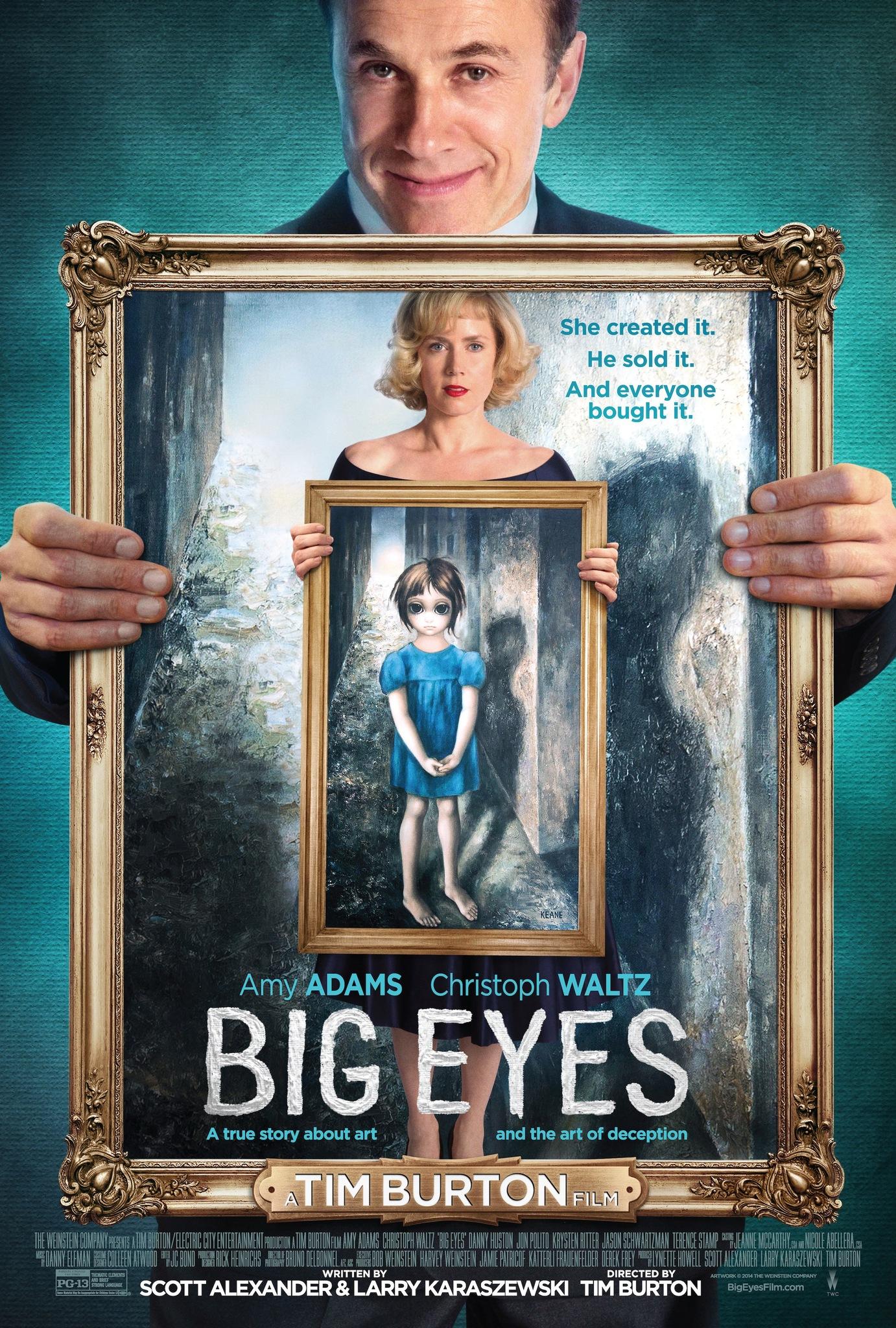 ดูหนัง Big Eyes (2014) ติสท์ลวงตา