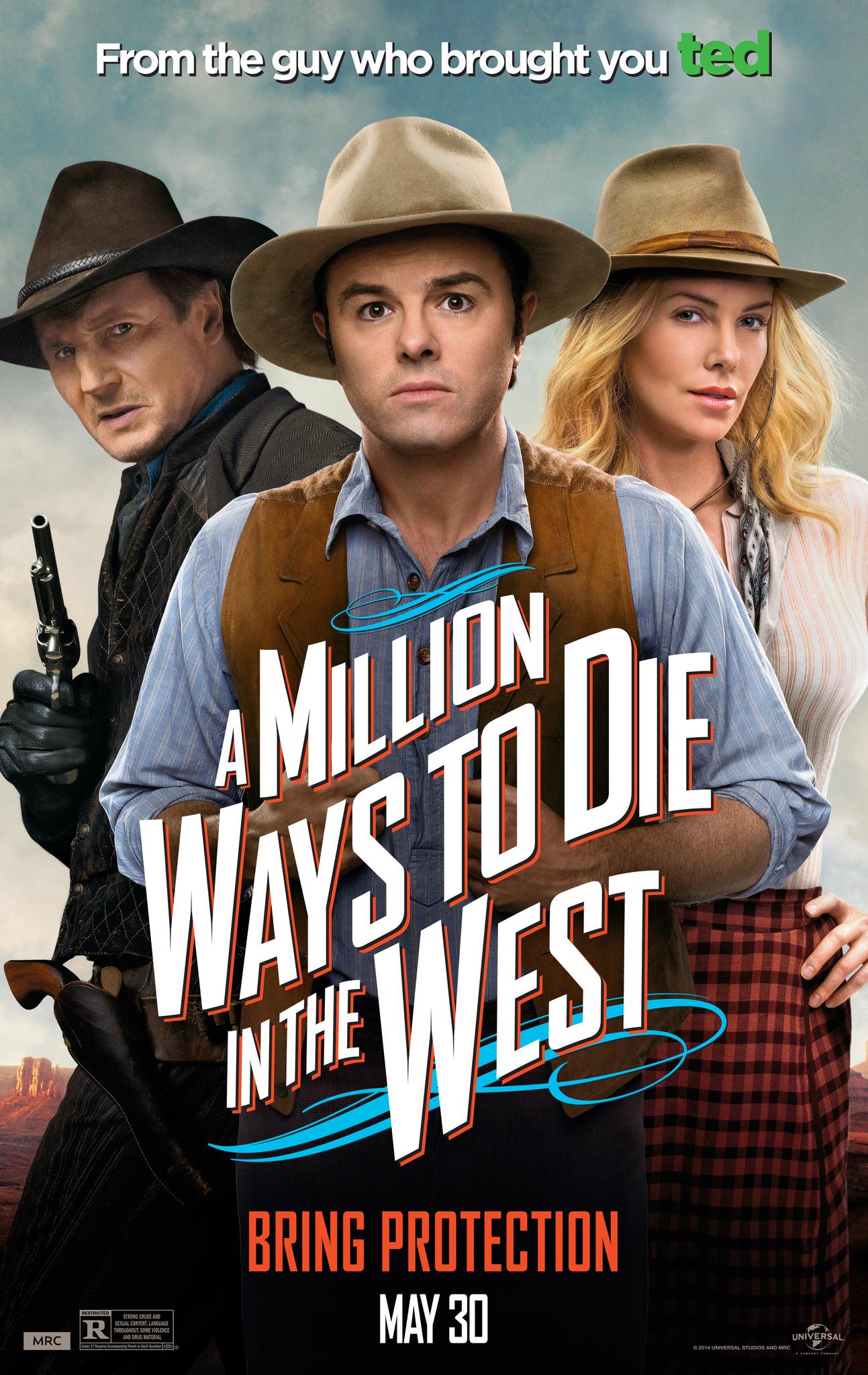 ดูหนัง A Million Ways to Die in the West (2014) สะเหล่อไม่แอ๊บ แสบได้โล่ห์