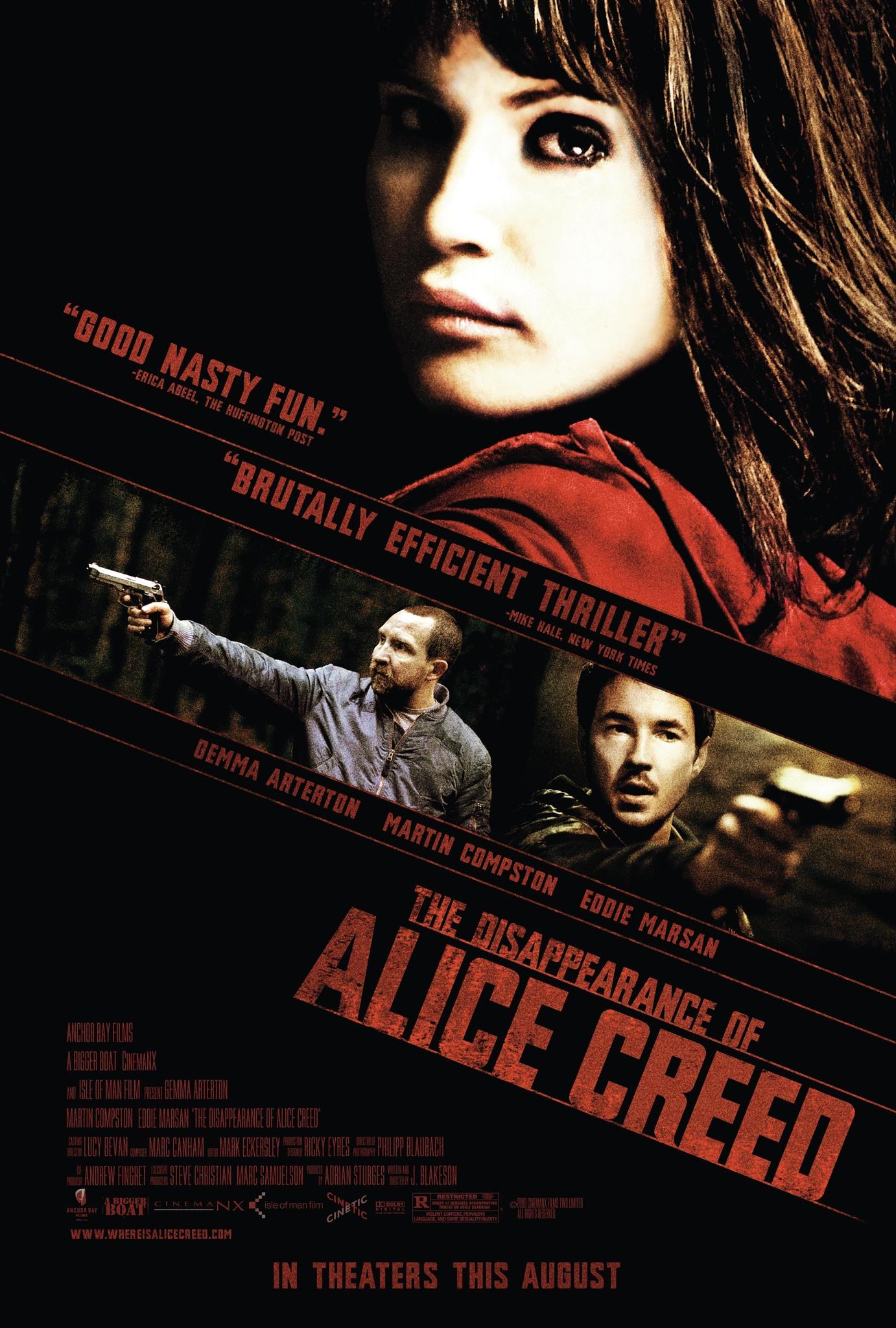 ดูหนัง The Disappearance of Alice Creed (2009) เกมรัก เกมอาชญากรรม