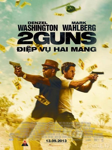ดูหนัง 2 Guns (2013) ดวล ปล้น สนั่นเมือง