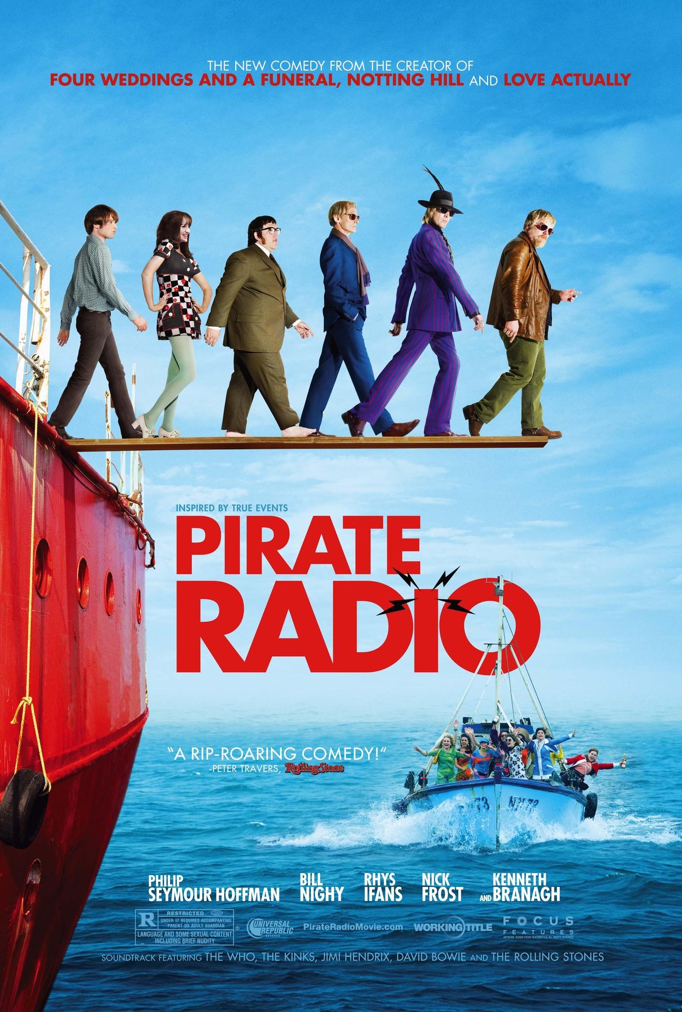 ดูหนัง Pirate Radio (2009) แก๊งฮากลิ้ง ซิ่งเรือร็อค