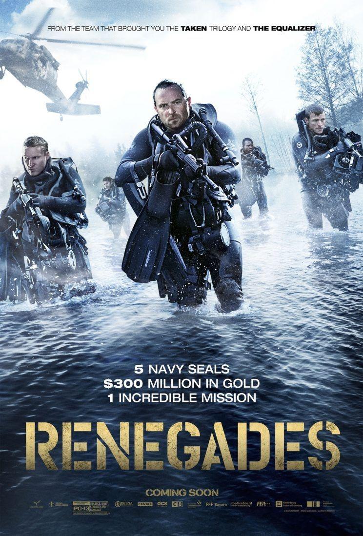 ดูหนัง Renegades (2017) เรเนเกดส์ ทีมยุทธการล่าโคตรทองใต้สมุทร