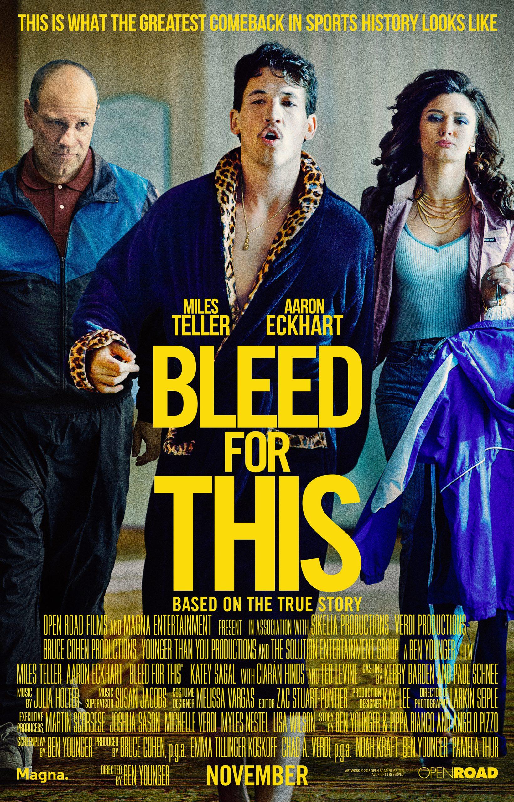 ดูหนัง Bleed For This (2016) คนระห่ำหมัดหยุดโลก