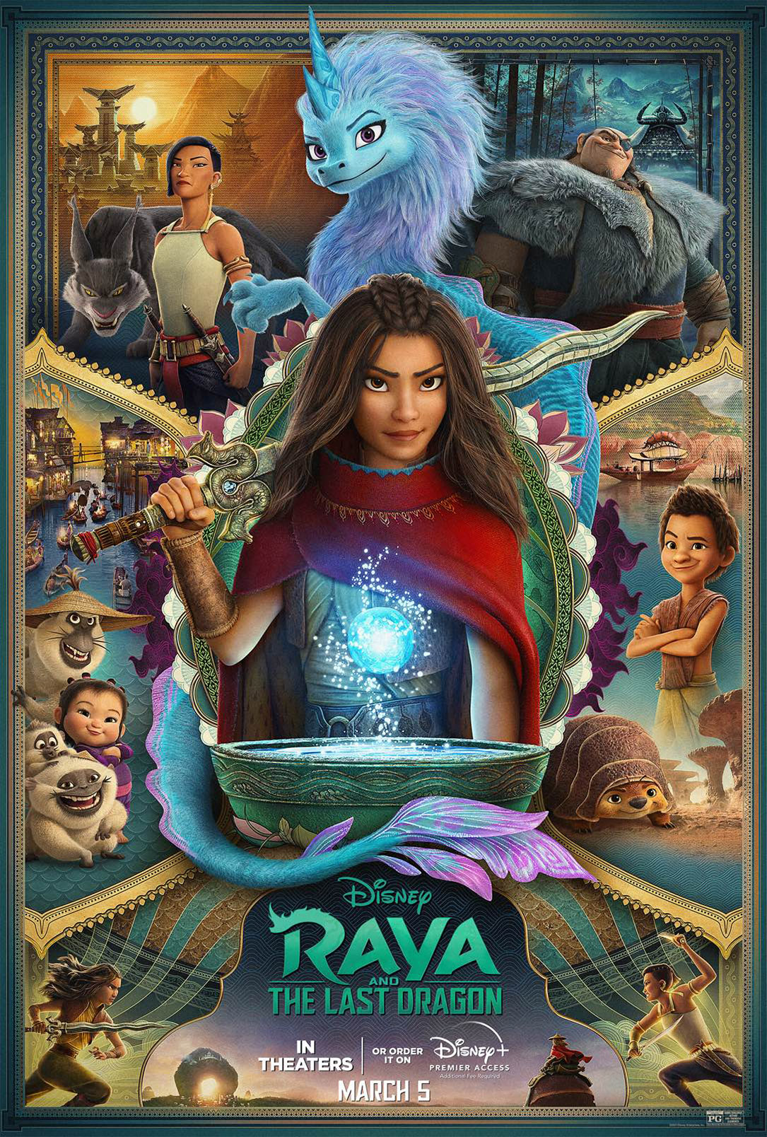 ดูหนัง Raya and the Last Dragon (2021) รายากับมังกรตัวสุดท้าย