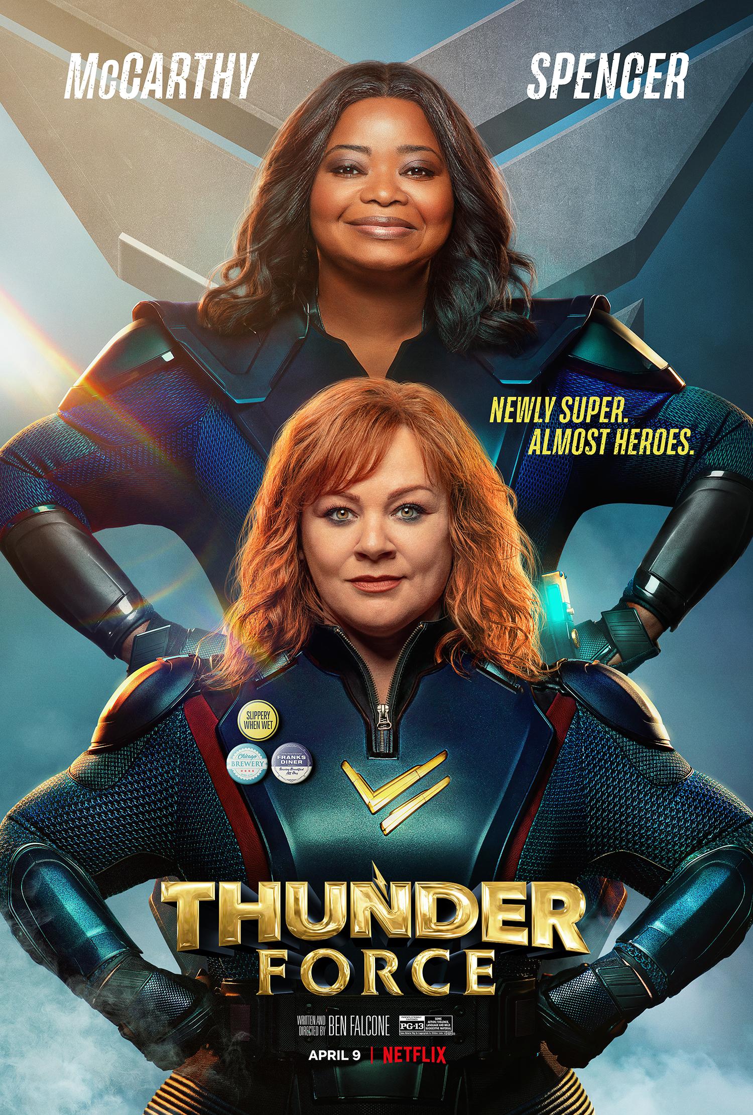 ดูหนัง Thunder Force (2021) ธันเดอร์ฟอร์ซ ขบวนการฮีโร่ฟาดฟ้า