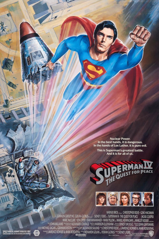 ดูหนัง Superman 4: The Quest For Peace (1987) ซูเปอร์แมน ภาค 4