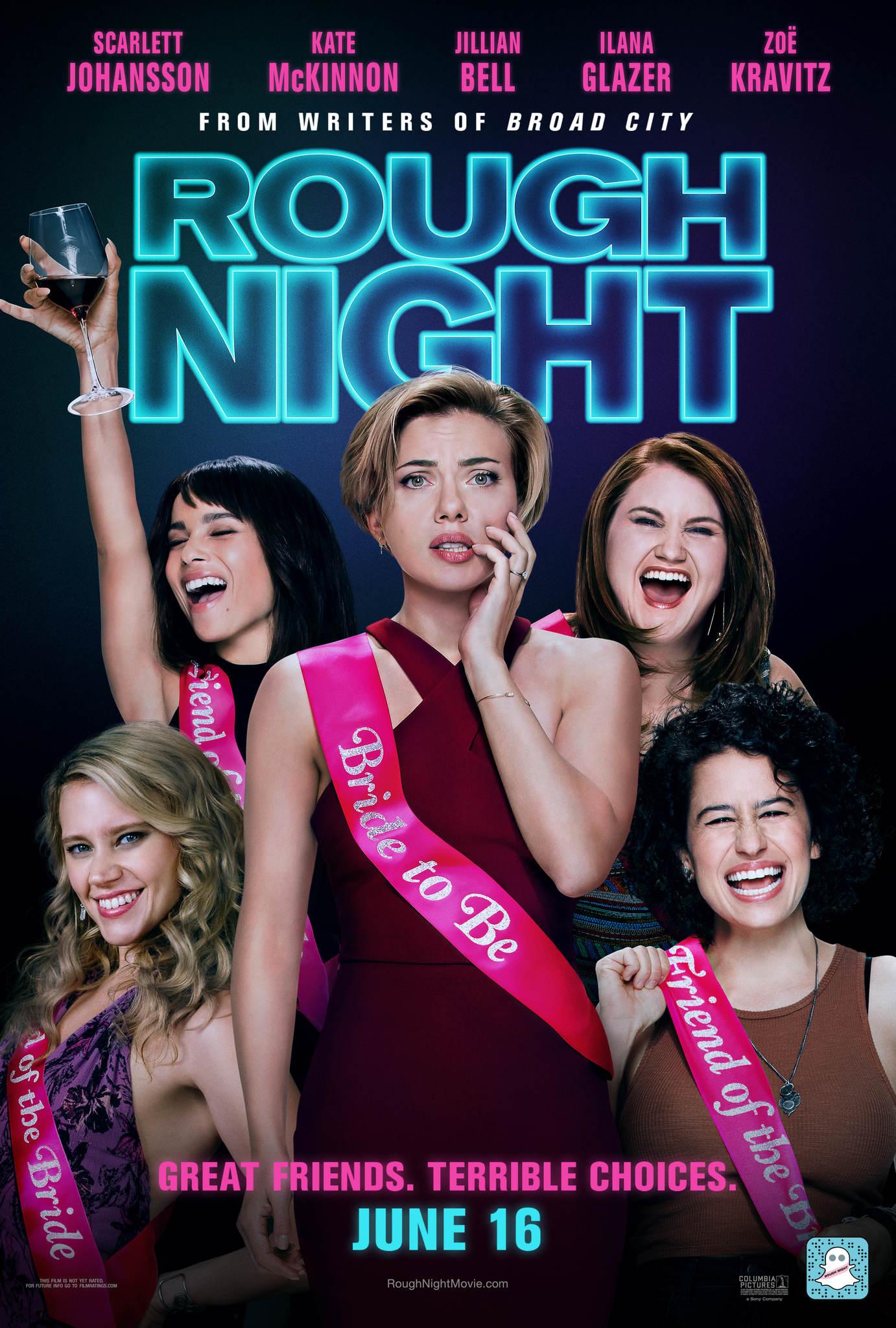 ดูหนัง Rough Night (2017) ปาร์ตี้ชะนีป่วน