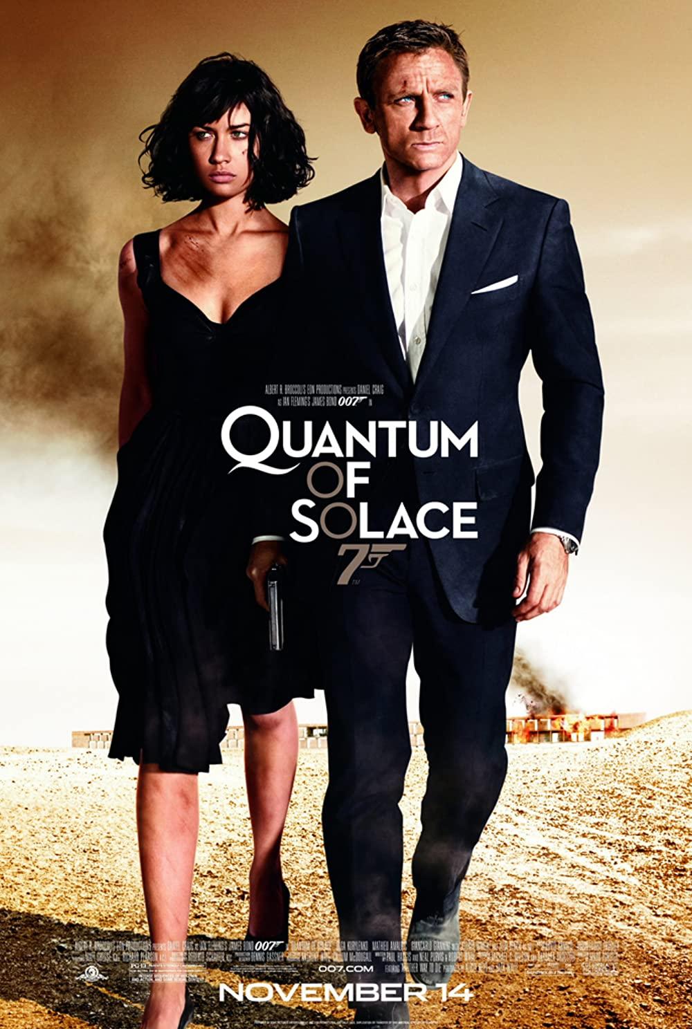 ดูหนัง James Bond 007: Quantum of Solace (2008) เจมส์ บอนด์ 007: พยัคฆ์ร้ายทวงแค้นระห่ำโลก