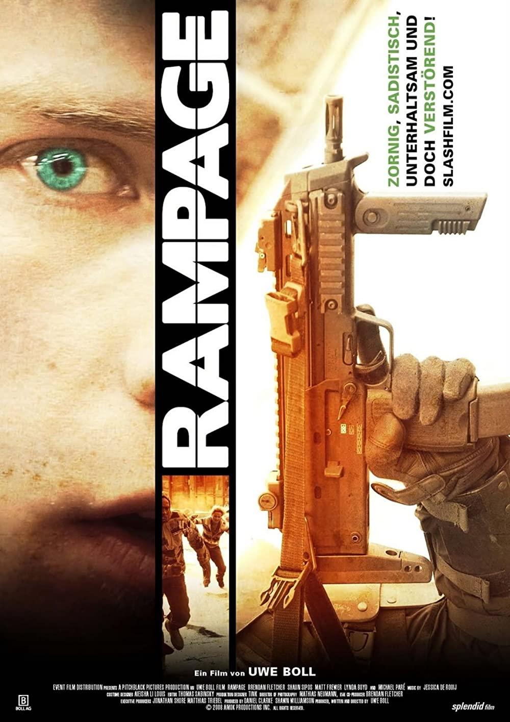 ดูหนัง Rampage (2009) คนโหดล้างโคตรโลก