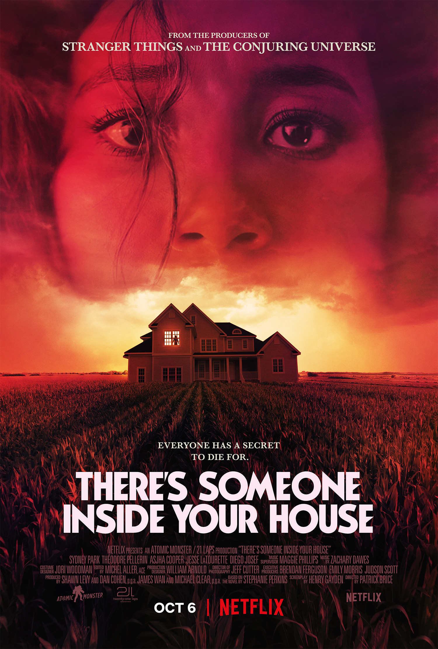 ดูหนัง There's Someone Inside Your House (2021) ใครอยู่ในบ้าน