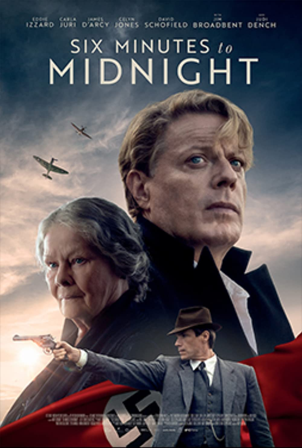 ดูหนัง Six Minutes to Midnight (2020) พลิกชะตาจารชน